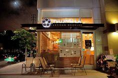 Tsujita LA Artisan Noodle-Michelle plans fav. 2057 sawtelle blvd, Los Angeles CA 60 hours char-siu tsukemen & Tsukemen topped w/ slices of roasted pork