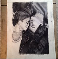 The Fault In Our Stars Charcoal Drawing by ChristiesCrafts485