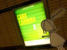 Starting from today Cara Carmina´s work is at Sherbrooke metro with Ford Quebec!!!!! :D  yaaaaaaaaaaaaaaay!!!!! :D