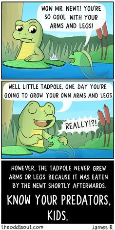 Theodd1sout :: The Newt and the Tadpole | Tapastic Comics - image 1