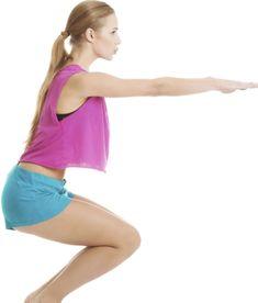 exercicios para chapar agachamento
