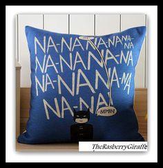 Hand Made Batman Pillow Cover 17 x 17 Na Na Na Na BATMAN Great Gift Ideas Home Decor Man Cave Dorm Boys Room on Etsy, $19.99