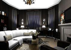 Decoracin de interiores de estilo gtico