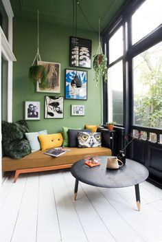 Garden room eclectic greenhouses from form makers interior - concept - design eclectic limestone Interior Concept, Modern Interior, Green Interior Design, Living Spaces, Living Room, Bedroom Colors, Interior Inspiration, Furniture Design, House Design
