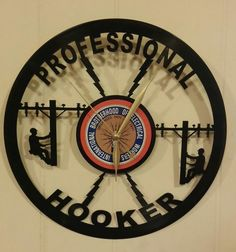 Electrician Lineman Professional Hooker by Winterparkproducts