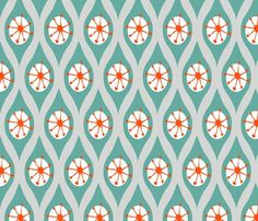 Modern_turquoise_and_orange_on_grey_shop_preview