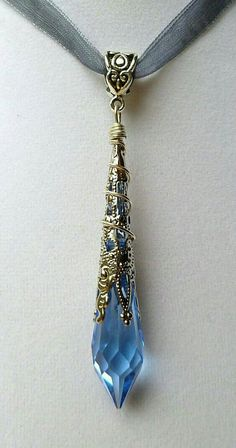 34 Ideas For Diy Jewelry Wire Wrapping Swarovski Crystals Cute Jewelry, Diy Jewelry, Jewelry Accessories, Jewelry Necklaces, Jewelry Design, Fashion Jewelry, Jewelry Making, Jewlery, Jewelry Trends