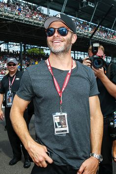 Chris Pine at the Indy 500 on May 29, 2016.