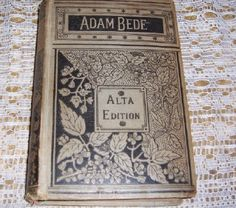 Adam Bede by George Eliot Mid 1800's Antique by jamesdorn on Etsy, $8.00