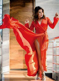 Karla Souza for Glamour Mexico 2017.
