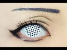 Tutorial : Anime Eye Makeup 79 • Hinata Hyuga - YouTube