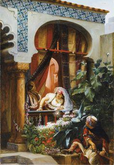 enchantedsleeper:  Le Balcon, Pierre-Marie Beyle