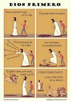 Jesús primero.