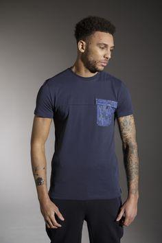 The 'KOSTON' Tee - £25 - http://www.voijeans.com/blackout/koston-tshirt-black-iris.html