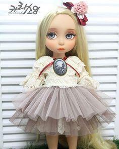 #dolldress  #designedbycara #dolloutfits #카라소잉 #베이비돌옷 #지아리페인팅 #디즈니베이비돌 #향기소녀#animatorsdoll