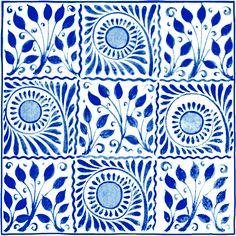 V 9 Square tile in cobalt Homebase Ceramic Floor Tiles, Bathroom Floor Tiles, Wall And Floor Tiles, Tile Grout, Ceramic Art, Bathroom Wall Coverings, Bathrooms Online, Wood Effect Tiles, Cooking