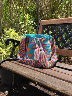 Authentic Wayuu Bag handmade by the Wayuu by loveandlucky on Etsy, $120.00