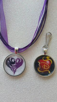 Disney Descendants...inspired.... Necklace or Zipper Pull  Show your love for the Descendants by wearing as a necklace or using as a zipper