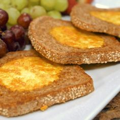 """Did I hear the words """"weekend brunch?"""" No need to fear - this tasty menu featuring my vegan twist on classic eggs and toast will please your early morning diners this weekend! http://www.jazzyvegetarian.com/products-group-92.html"""