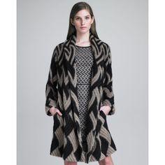 Missoni Shawl-Collar Coat