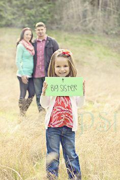 Pregnancy announcement: Big Sister