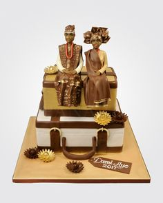 African Wedding Cakes, Cupcake Cookies, Cupcakes, Food Artists, Traditional Wedding, Cake Art, How To Make Cake, Lovers Art, Museum