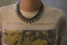 SHOP FOR A CAUSE! A sweet #vintage Police Synchronicity tee for sale NOW on our site! #shopforacause 5ceeclothing.org #rockandroll