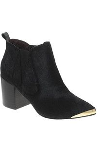 Report Signature Toby Leather Heeled Ankle Boots