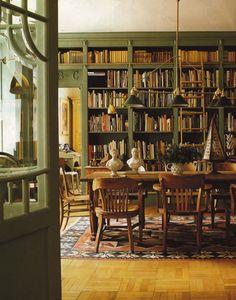 nostalgic livingroom