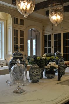 pinned..just to get to great blog with tons of great pictures..and I love the cabinets.