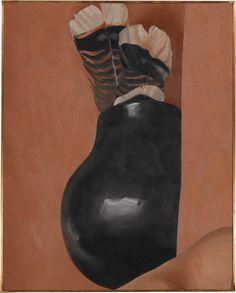 Georgia O'Keeffe Turkey Feathers and Indian Pot, 1941 Oil on canvas Georgia O'keefe Art, Georgia On My Mind, Georgia O Keeffe Paintings, Wisconsin, Art Students League, Turkey Feathers, Digital Museum, New York Art, Collaborative Art