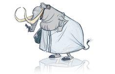 Mammoth after a sauna by Dan Seddon