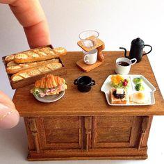 2018.03 Miniature Food Dollhouse ♡ ♡ By Fraise