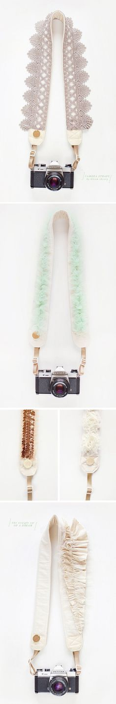Nice: camera straps from my dreams - PINEGATE ROAD