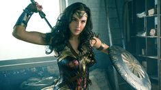 """'Wonder Woman' movie review by Justin Chang of the Los Angeles Times: """"Director Patty Jenkins and her collaborators have taken the well-worn superhero origin story and invested it with a rich sometimes revelatory depth of feeling."""""""