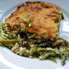 Egy finom Rakott zöldbab szalonnával ebédre vagy vacsorára? Rakott zöldbab szalonnával Receptek a Mindmegette.hu Recept gyűjteményében! Quiche, Breakfast, Recipes, Food, Recipies, Hoods, Meals, Ripped Recipes
