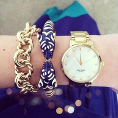 kate spade watch, Stylish watches with bracelets http://www.justtrendygirls.com/stylish-watches-with-bracelets/
