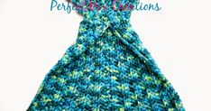 'Mixin it up with DaPerfectMix': Crochet Mermaid Tail Fin Pattern