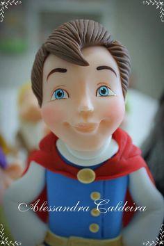 Prince-Snow White | Alessandro Caldeira | Gumpaste Figures