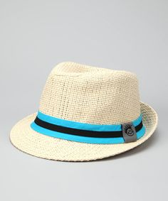 Take a look at this Natural Chillin' Fedora by Knuckleheads on #zulily today!