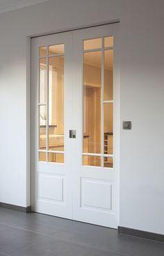 Double Doors Interior, Door Design Interior, Home Room Design, Dream Home Design, House Design, Modern Door Design, Porch Doors, Room Doors, Windows And Doors