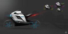 Volkswagen Bik-E on Behance
