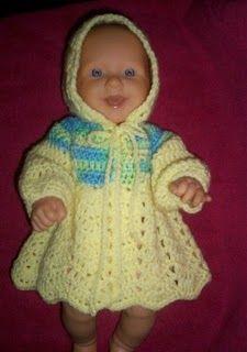 Sisters , Miles apart, Close at heart.: Newborn Hooded Ripple Sweater