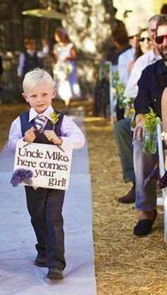 Cassi Watson...if you don't have a ring bearer yet I know two of the cutest guys ever to carry your banner ;) lol