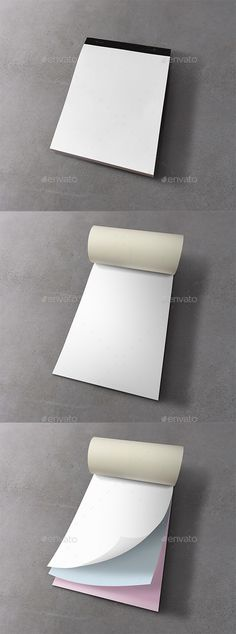 Notepad Mockup - Print #Product #Mock-Ups Download here: https://graphicriver.net/item/notepad-mockup/20284494?ref=alena994