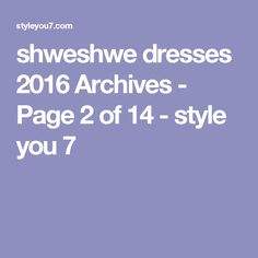 shweshwe dresses 2016 Archives - Page 2 of 14 - style you 7