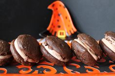 The Kitchen Prep: Chocolate Caramel Crunch Whoopie Pies