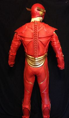 Injustice Flash Costume the back http://malmey-studios.com/?page_id=3481