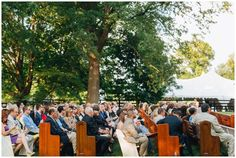 Sarah and Marcus' Hermitage Farm Wedding | Aesthetiica Photography | Pews by The Pew People