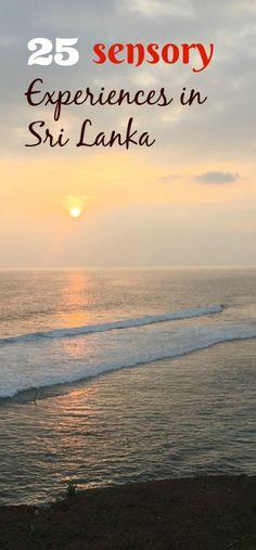 25 Sensory Experiences In Sri Lanka